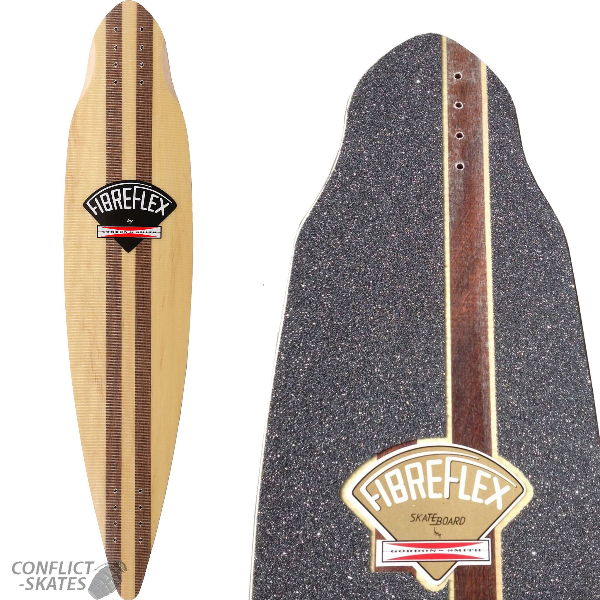 G S FIBREFLEX Pintail 38 Skateboard Longboard Deck   Grip Gordon Smith  1970s 38 x 8.25 143f0fc1348